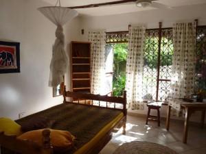Wohnzimmer Palmen Apartment Mtwapa-Momabasa Kenya